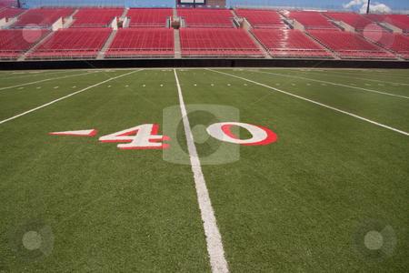 Football stadium stock photo, American football stadium by Gunter Nezhoda
