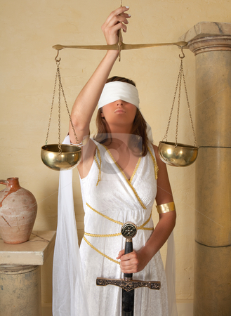 Scales Zodiac girl stock photo, Libra or Scales, this photo is part of a series of twelve Zodiac signs of astrology by Anneke