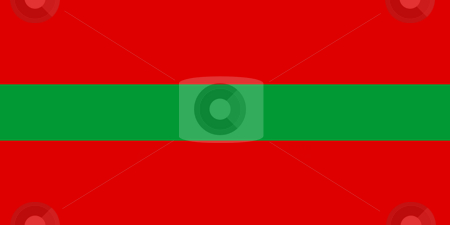 Transnistria Flag stock photo, Sovereign state flag of country of Transnistria in official colors. by Martin Crowdy
