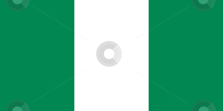 Nigeria Flag stock photo, Sovereign state flag of country of Nigeria in official colors. by Martin Crowdy