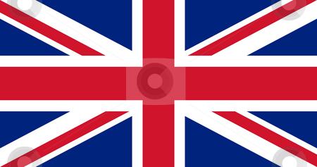 Union Jack British flag stock photo, Illustration of British Union Jack national country flag. by Martin Crowdy