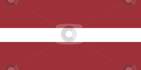 Latvia Flag stock photo, Sovereign state flag of country of Latvia in official colors. by Martin Crowdy