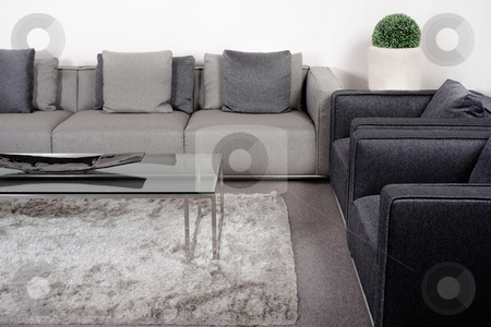 Lliving-room with classic furniture  stock photo, Living-room with brand new classic furniture by Get4net