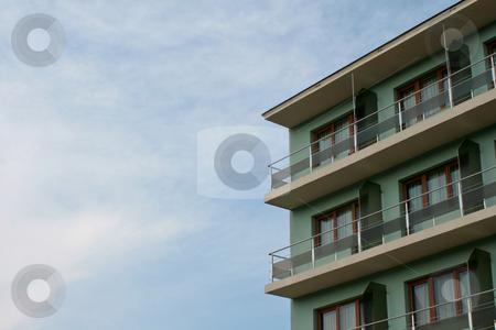 Apartment complex stock photo, Apartment complex by Boglarka Furo