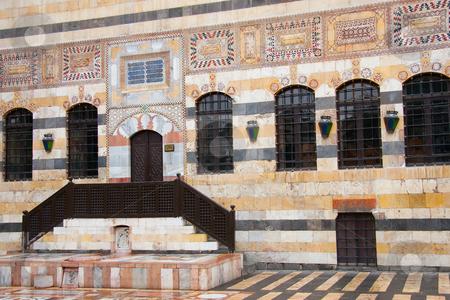 Azem palace stock photo, Azem palace, Damascus, Syria by B.F.