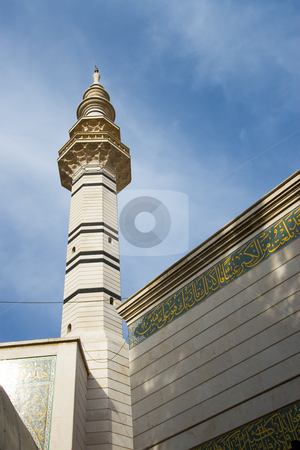 Mosque of Ruqaia stock photo, Mosque of Ruqaia, Damascus, Syria by B.F.