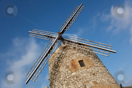 Windmill of Aixerrota, Getxo, Bizkaia, Spain stock photo, Windmill of Aixerrota, Getxo, Bizkaia, Spain by B.F.