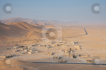 Get dark in Palmira stock photo, Get dark in Palmira, Syria by B.F.