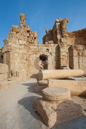Ruins of Russafa stock photo, Ruins of Russafa, Syria by B.F.