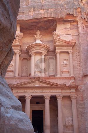 The treasure stock photo, The treasure, Petra, Jordan by B.F.