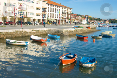Fishing port stock photo, Fishing port, Cantabria (Spain) by B.F.