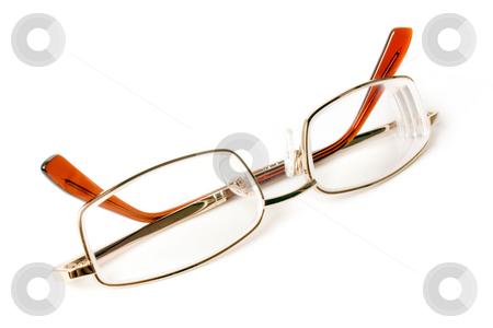 Eyeglasses. stock photo, Eyeglasses isolated on a white background. by Oleksiy Fedorov
