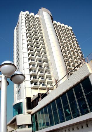 Modern hotel in Tel-Aviv stock photo, Modern hotel in Tel-Aviv, Israel by Tatjana Keisa
