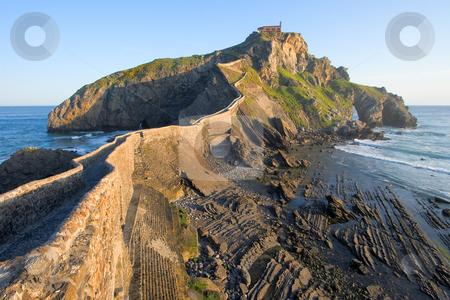 San Juan de Gaztelugatxe, Bizkaia, Spain stock photo, San Juan de Gaztelugatxe, Bizkaia, Spain by B.F.