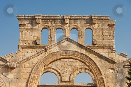 San Simeon Estilita stock photo, San Simeon Estilita, Syria by B.F.