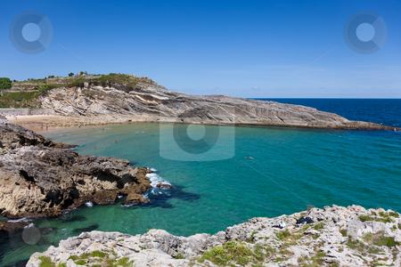Beach of Sablon, Llanes, Asturias, Spain stock photo, Beach of Sablon, Llanes, Asturias, Spain by B.F.