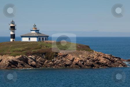 Lighthouse of Ribadeo, Lugo, Galicia, Spain  stock photo, Lighthouse of Ribadeo, Lugo, Galicia, Spain by B.F.