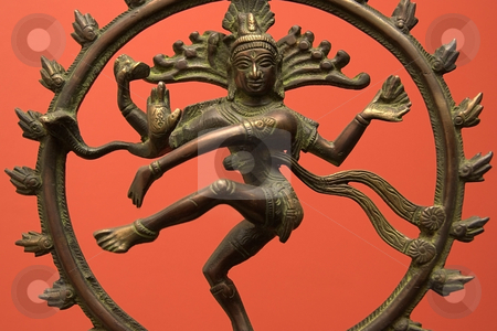 Shiva stock photo, Common Depiction of the Hindu God Shiva. by Jamie Slavy