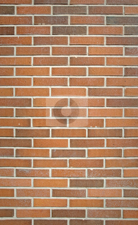 Brick wall texture stock photo, Red brick old wall texture. by Homydesign