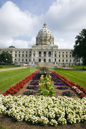 St. Paul, Minnesota - State Capitol stock photo, State Capitol of Minnesota in St. Paul. by Henryk Sadura