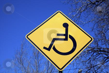 Be careful!   stock photo, Be careful! Men on wheelchair! by Henryk Sadura