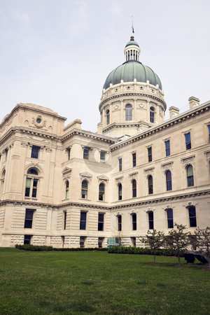 Indianapolis, Indiana - State Capitol stock photo, State Capitol of Indiana in Indianapolis. by Henryk Sadura