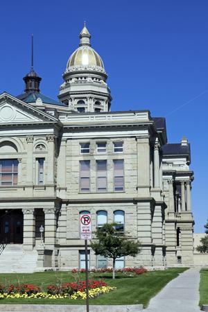 Cheyenne, Wyoming - State Capitol stock photo, State Capitol of Cheyenne in Cheyenne. by Henryk Sadura