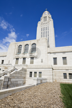 State Capitol of Nebraska   stock photo, State Capitol of Nebraska in Lincoln. by Henryk Sadura
