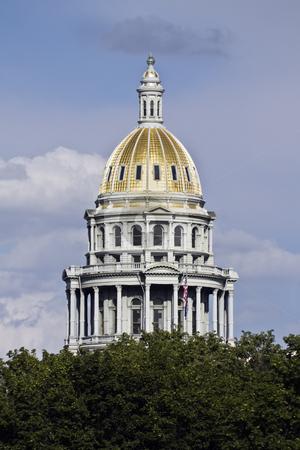 Denver, Colorado - State Capitol stock photo, State Capitol of Colorado in Denver. by Henryk Sadura