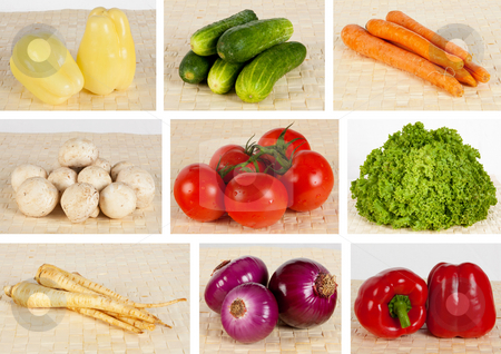 Various vegetables stock photo, Fresh vegetables by Daniel Cozma