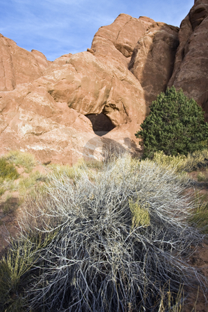 Arch in Utah stock photo, Arch in Utah - Arches National Park. by Henryk Sadura