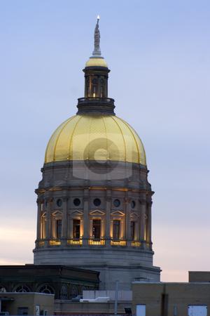 Atlanta, Georgia - State Capitol  stock photo, Atlanta, Georgia - State Capitol at sunset. by Henryk Sadura