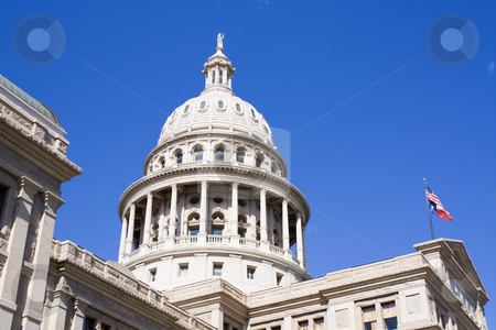 Austin, Texas - State Capitol stock photo, State Capitol of Texas in Austin. by Henryk Sadura