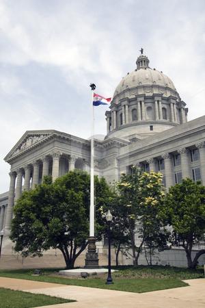 Jefferson City, Missouri - State Capitol stock photo, State Capitol of Missouri in Jefferson City. by Henryk Sadura