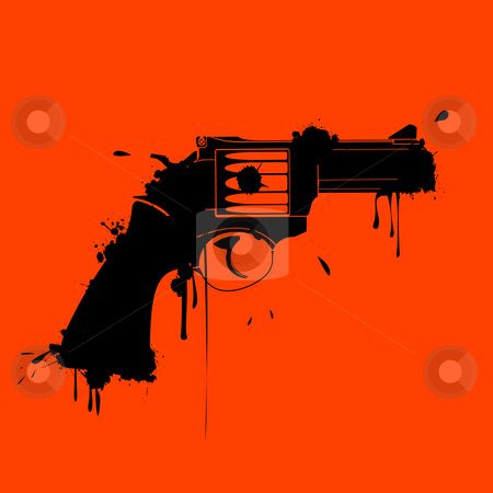 Gunge gun stock photo, Gunge gun by Richard Laschon