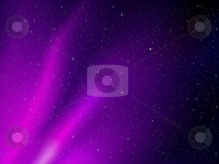 Vector space background stock vector clipart, Vector space background by Liviu Peicu