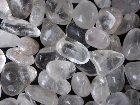 Polished stones stock photo, An abstract of polished stones by detseven