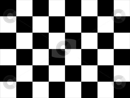 Chequered flag stock photo, Background of motor racing chequered of checked flag. by Martin Crowdy