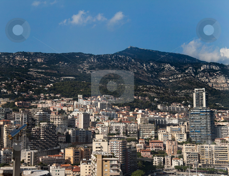Monaco Downtown stock photo, The skyline and harbor of downtown Monaco by Kevin Tietz