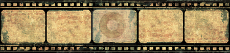 Grunge film frame stock photo, Computer designed highly detailed film frame with space for your text or image.Nice grunge element for your projects by GPimages