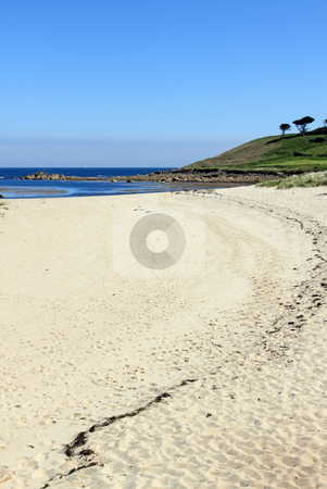 Pelistry beach in St. Mary's, Isles of Scilly Cornwall UK. stock photo, Pelistry beach in St. Mary's, Isles of Scilly Cornwall UK. by Stephen Rees