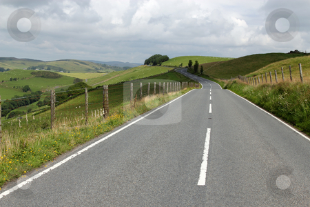 The A4120 road to Devils bridge in Wales UK. stock photo, The A4120 road to Devils bridge in Wales UK. by Stephen Rees