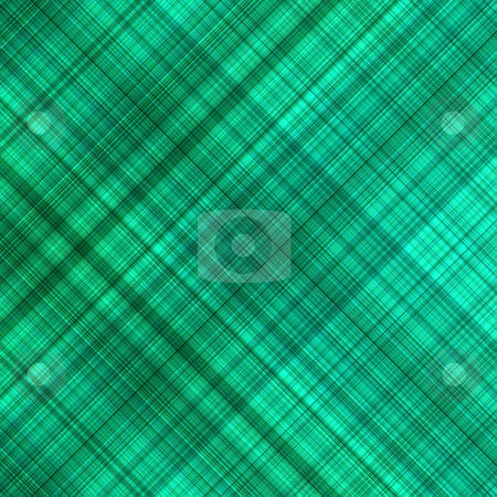 Green color grid pattern abstract background. stock photo, Green color grid pattern abstract background. by Stephen Rees