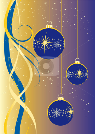 Christmas stock vector clipart, Christmas flyer. by Alexander Limbach