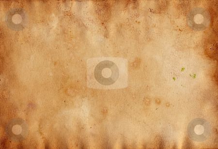 Antique paper stock photo, High resolution detailed vintage  paper background by GPimages