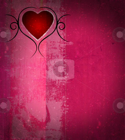 Valentines day background stock photo, Valentines day grunge background with space for your text. More images like this in my portfolio by GPimages