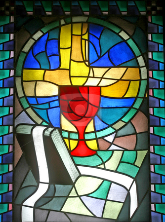 Penance - Confession stock photo, Penance - Confession, stained glass by Zvonimir Atletic