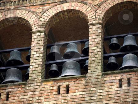 St Peter and Paul-belfry stock photo, St. Peter and Paul on Nikolsko, Berlin-Wannsee, Germany - belfry by Heike Jestram