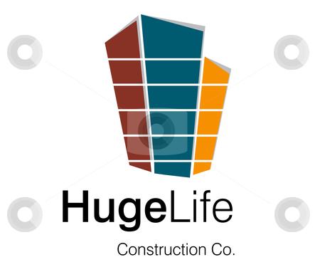 Logo Design for Construction Company stock vector