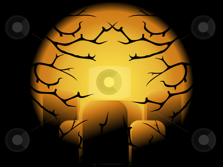 Abstract Background stock vector clipart, Halloween Concepet, vector file easy to use and edit. by Nabeel Zytoon